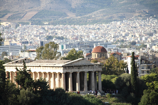 Tempel in Athen