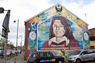 Belfast Graffity: Nationalheld Bobby Sands