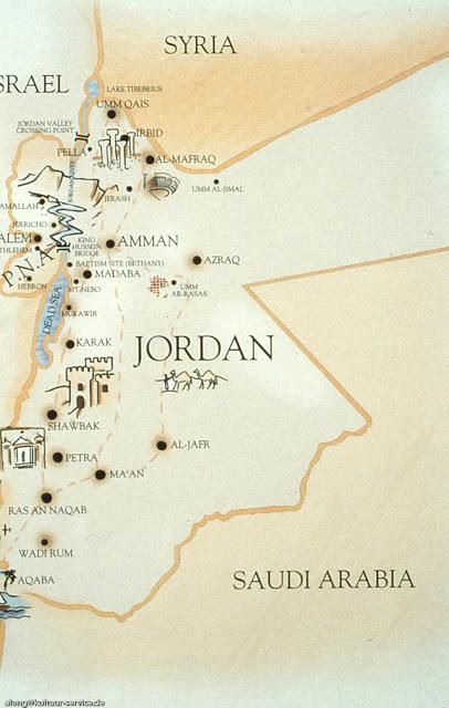 israel grenze jordanien